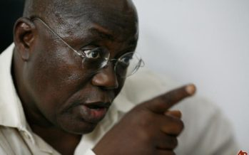 Akufo-Addo Made a Firm Statement to Visiting French President and his Body Language Alone was Enough for us
