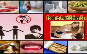 6 Foods To Avoid Before Sex