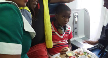 Pictures: Dieing Boy's Wish To See An Aircraft Goes Viral