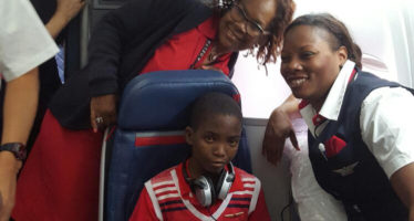 Sad: Boy Whose Dying Wish Was To See An Aircraft Passes On