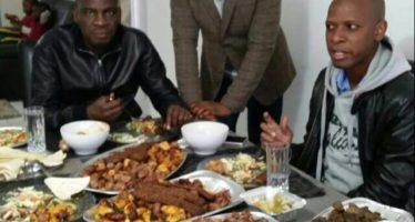 Employment Minister Haruna Iddrisu's Feasting Photo Causes Stir On Social Media