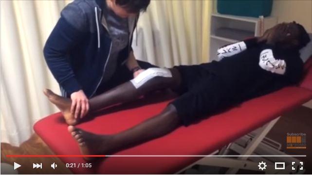 stonebwoy's leg
