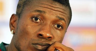Find Out the Problem Asamoah Gyan's  Haircut has Landed him into in UAE
