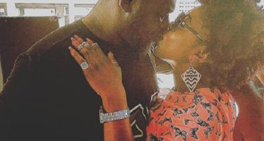 PHOTO: Afia Schwarzenegger Kisses Shatta Wale's Bulldog