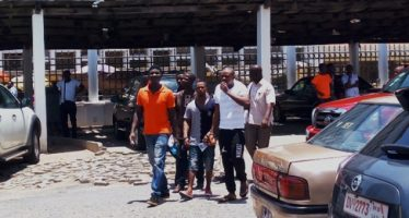 Three Sentenced to 25 years' Imprisonment for Robbery