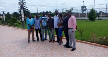 PHOTOS from Abraham Atta's Visit to Kennedy Agyapong's House