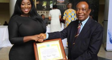 Peace Hyde Unveiled as Peace Ambassador