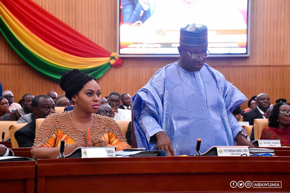 Image result for adwoa sarfo in parliament