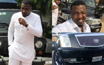 PHOTOS of the Luxurious Cars in John Dumelo's Garage