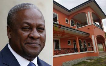 Mahama Builds Multi-Million Cedi Mansion In his Hometown,  Bole