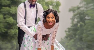The Doggy Pose In this Couple's Pre-Wedding Photos Will Make Your Day