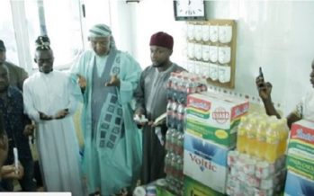 Lil Win Donates Massively to Tafo Central Mosque