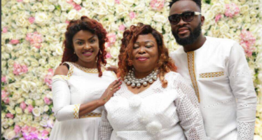 Nana Ama Mcbrown Raps for her Mother-in-law at her 60th Birthday Party