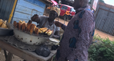 You will Love these PHOTOS of Kennedy Agyapong Buying Roasted Corn by the Road Side