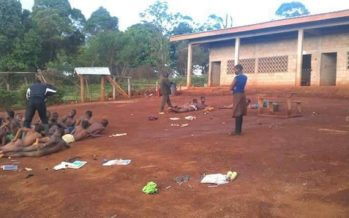 PHOTOS: Teachers Strip their Male and Female Students to Flog them for Coming to School Late