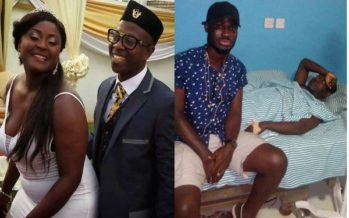 Flowking Stone and his Wife, Bridget in Critical Condition at the Hospital