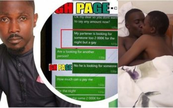 I'll Lick your Thigh and Open your Legs to Enter- Lashibi Prophet Tells his Gay Partner