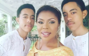 Afia Schwarzenegger's Twins will Read Science at High School and she has a Message for her Critics