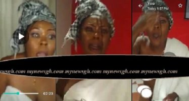 EXPOSED: Afia Schwarzenegger Caught Sleeping with Another Man (Photo and Video Evidence)
