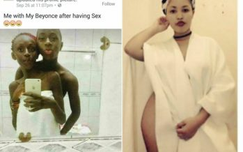 You'll be Shocked to See the PHOTOS this Small Boy Posted Online after Sleeping with a Girl