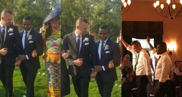 PHOTOS: One Time School Prefect of Achimota School Marries his Gay Partner in U.S.A