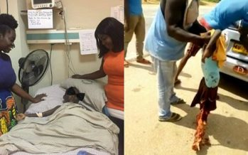 Boy whose Legs were Smashed in Accident Now Needs Help to Walk Again