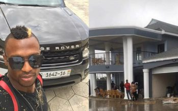 Check out PHOTOS of Ghanaian Player, Patrick Twumasi's Mansion