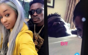 PHOTO: Shatta Wale Chills in Bed with Ghanaian Actress