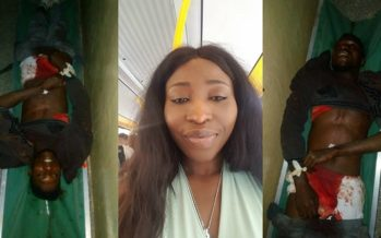 PHOTOS: She Needs Justice for her Brother who was Killed by Soldiers at Kasoa