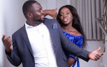 Osei Kwame Despite's Daughter, Hetty, Posts All Swagged up Photo with her Husband