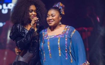 Photos: We Just Saw Becca's Mother and we now Know where She Gets her Looks from