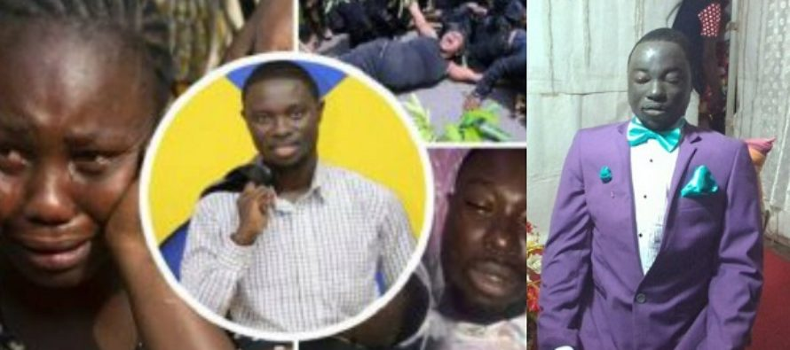 Sad Photos: People are Crying over 1 year Celebration of Confidence K. Baah's Death