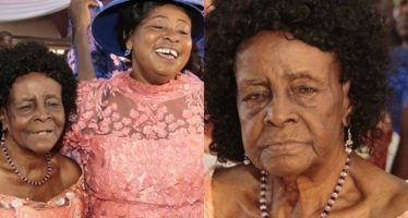 See Photos of Mama Esther's Mother, who Gave Birth to her at Age 50. She's Now 102