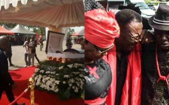 You'll Cry after Seeing these Photos from Paapa Yankson's State Funeral.