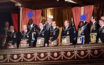 Asantehene and Prez Kuffuor were Spotted at a Grand Freemasons Meeting in London and People are Talking