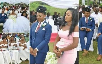 Photos: Female Best Man Steals the Show at her Brother's Wedding and we Just Love her