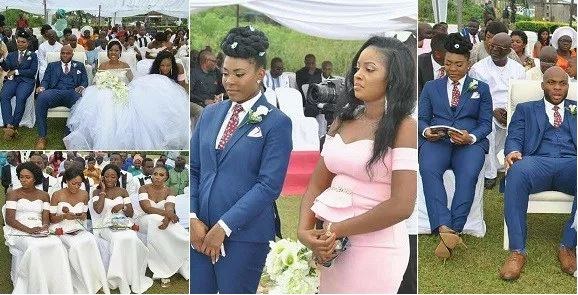 Photos Female Best Man Steals The Show At Her Brother S Wedding And We Just Love Nsromamedia