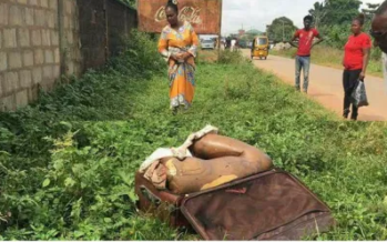 Sad Photos: The Body of a Slay Queen has been Found Inside a Brief Case Without her Head