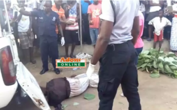 Sad Photos: A Man's Head and P.enis have been Cut off at Kasoa Amanfrom