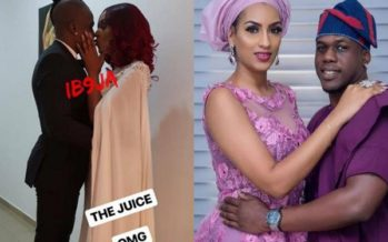 We have all the Photos from Juliet Ibrahim's Secret Marriage to Iceberg Slim Yesterday