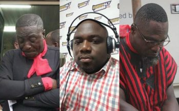 Photos: See how Captain Smart, Countryman Songo and others Cried Over KABA's Death