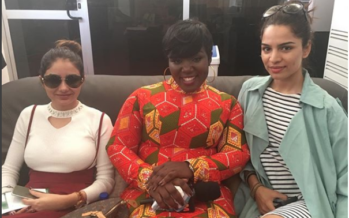 Kumkum Bhagya Stars are in Ghana. See how they were Received in Accra.