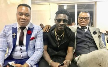 Shut up in Jesus' Name- Shatta Wale Blasts Fan who Insulted him for Taking a Photo with Obinim