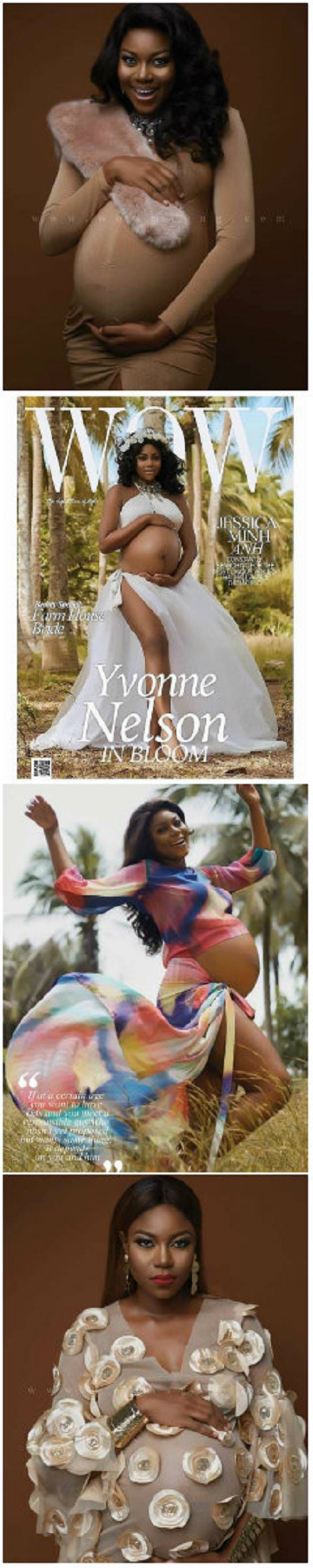 Finally, Yvonne Nelson has Posted Photos from when she was Pregnant