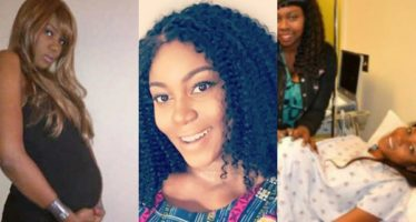 PHOTO: Yvonne Nelson Steps out for the First Time after Giving Birth