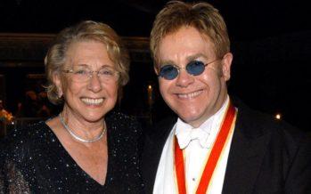Elton John In Shock As Mum Dies!!