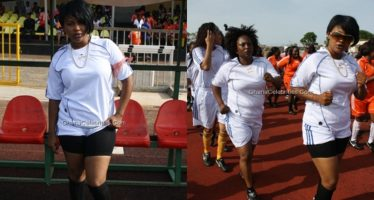 Nana Ama McBrown has Explained why she Stopped Playing Football for Kotoko Ladies to Start Acting