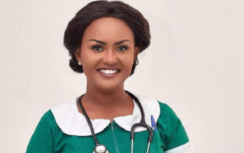 Nana Ama McBrown wants to be a Nurse and she's Already Looking Chicky in the Uniform