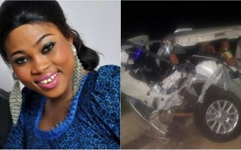 Prayers up: Gospel Musician, Joyce Blessing Battles for her Life at 37 Military Hospital after Near Fatal Accident [Photos]