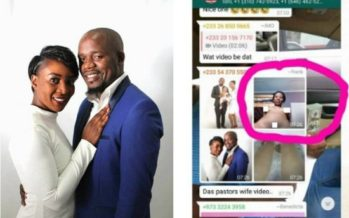 An Osofo Maame Mistakenly Sent her N,de Video to a WhatsApp Group and People are Talking about her Clitors
